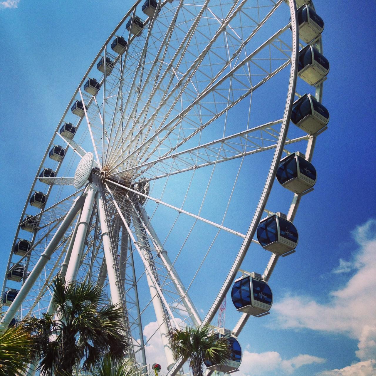 The SkyWheel On Boardwalk Highest Ferris Wheel East Coast