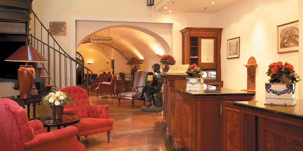 Hotel Altstadt lobby, photo from hotel's website