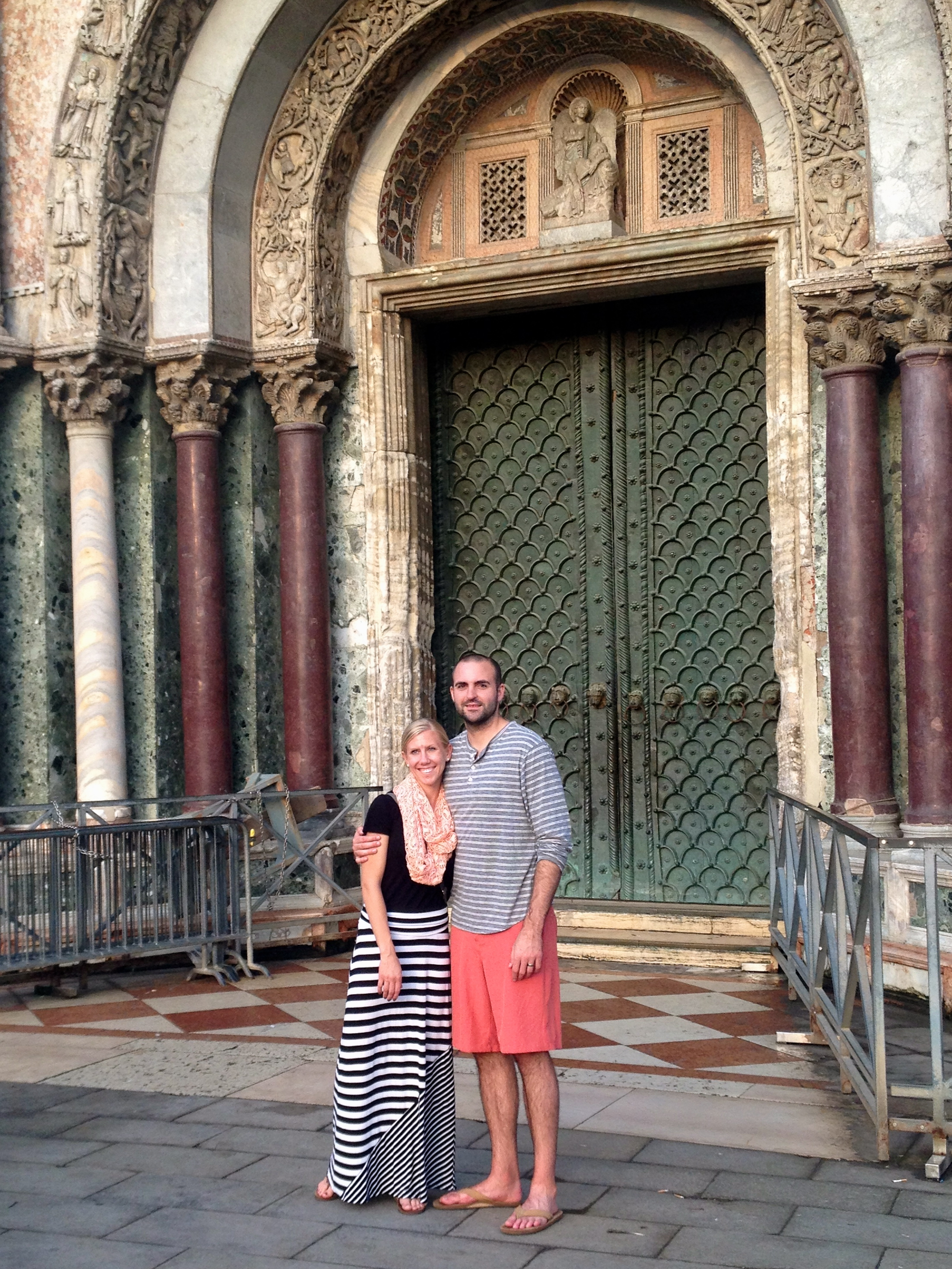 visiting St. Mark's Basilica in Venice thanks to a free stopover on Lufthansa with United miles