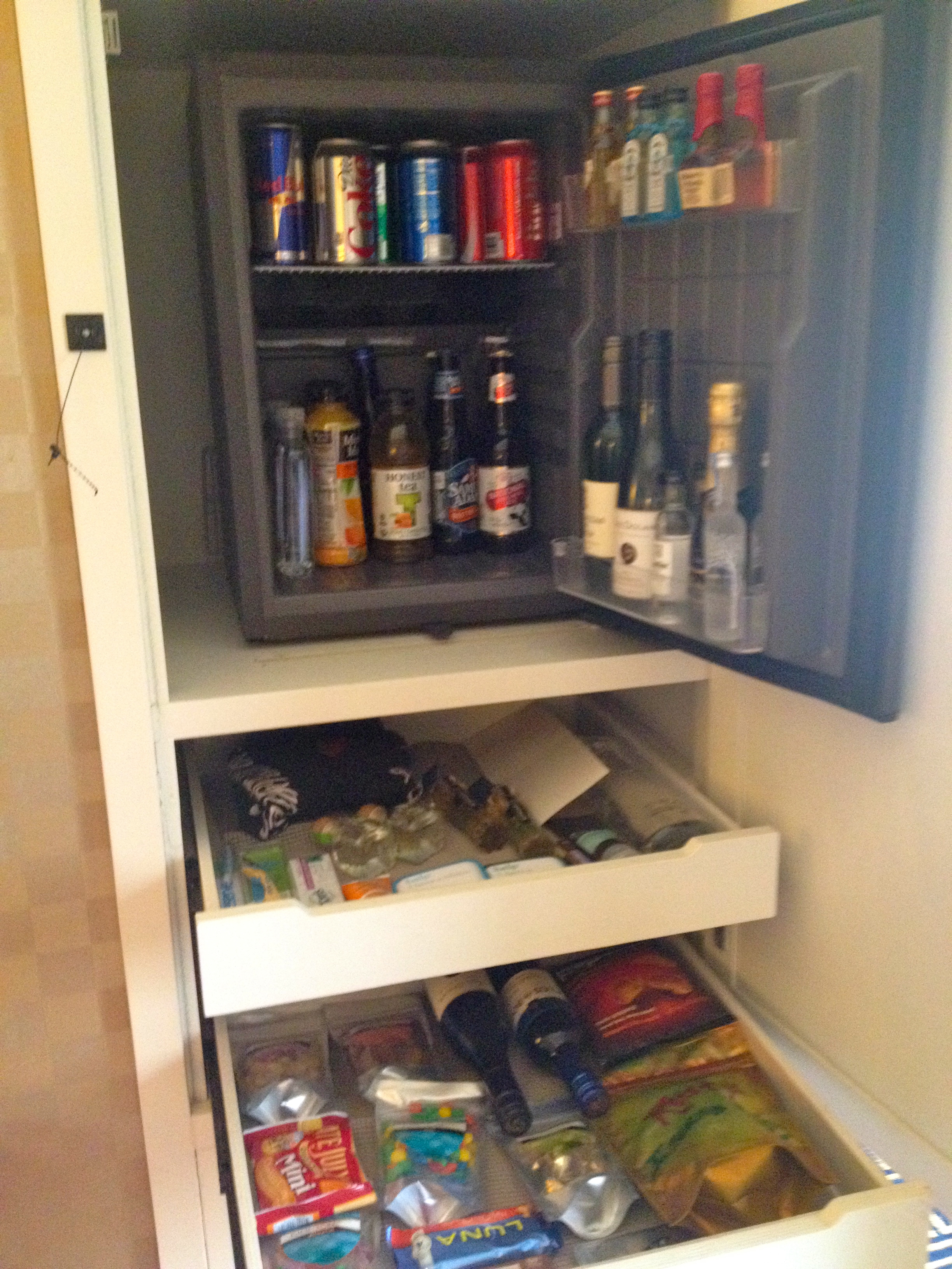 mini-bar options