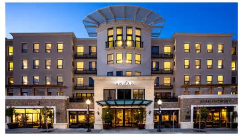 We redeemed a Hyatt credit card free night for one night at the Andaz Napa